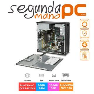WorkStation HP Z440 - E5-1620v3 - 16GB - 256GB SSD