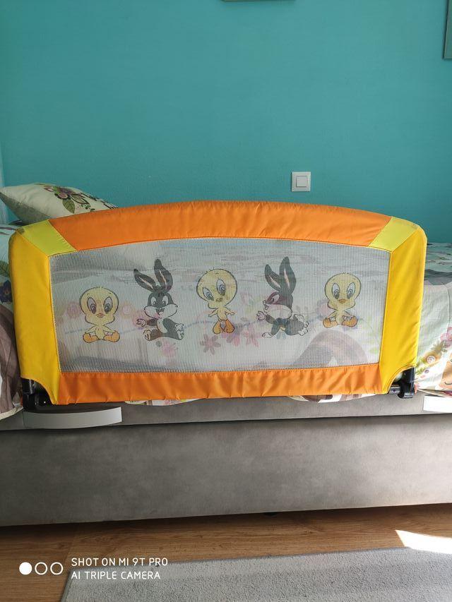 barrera cama bebe