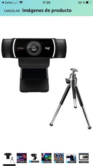 Webcam logitech pro cp922