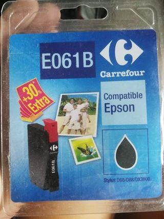 cartucho tinta negra compatible Epson