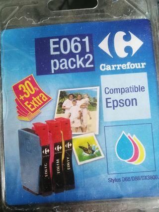 cartucho de tinta tri-color compatible Epson