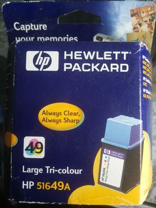 cartucho tinta tri-color hp 51649A 2 unidades