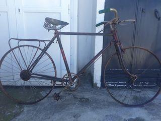 bicicleta de varillas de vintage