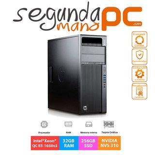 WorkStation HP Z440 - E5-1650v3 - 32GB - 512GB SSD