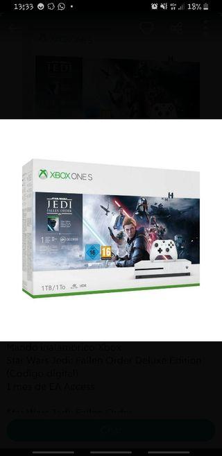 Xbox One 1 TB Edicion Stars Wars + Mando