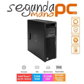 WorkStation HP Z440 - E5-1630v4 - 32GB - 512GB SSD