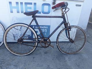 bicicleta antigua de varilla de vintage