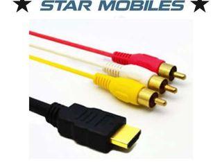 CABLE HDMI - 3 RCA - MACHO A MACHO