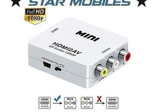 CONVERTIDOR DE HDMI A AV RCA ANALOGICA