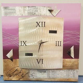 Cuadro Reloj decorativo