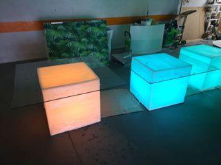 Mesas con luz