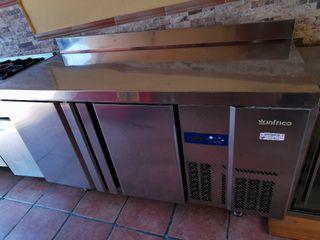 Mesa refrigerada Infrico