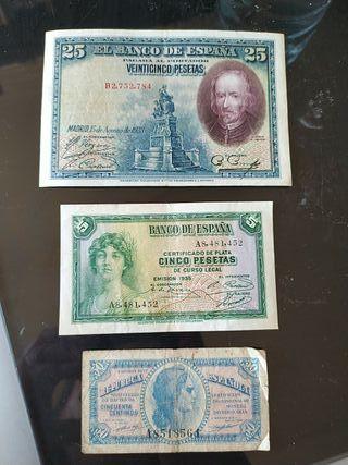 Billetes de la república