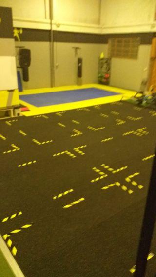 suelo de 6mm crossfit o gimnasio