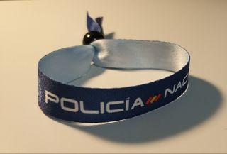 Pulseras Policía Nacional