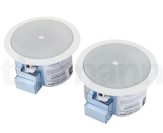 ALTAVOCES (2) PARA EMPOTRAR TECHO JBL C24-CT-Micro