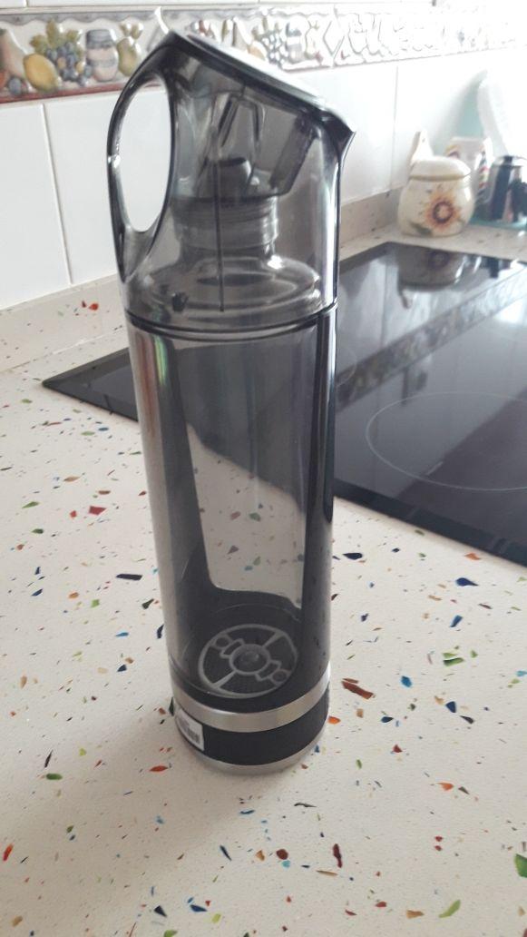 botella de agua hidrogenada portatil hydronik live