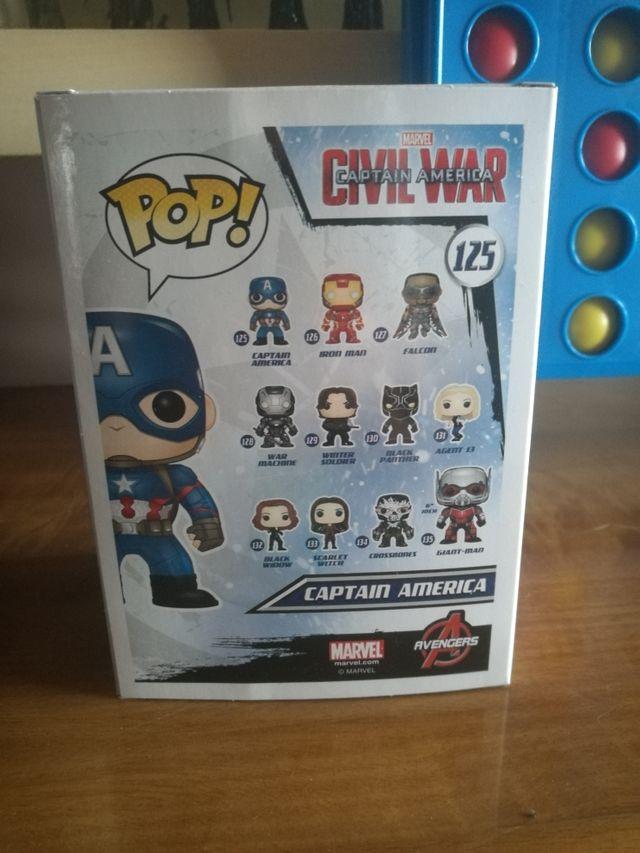 Funko Pop Capitán América
