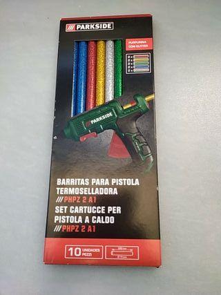 Barras de silicona para pistola termoselladora