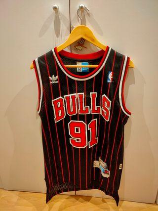 Camiseta vintage BULLS Temp 95-96