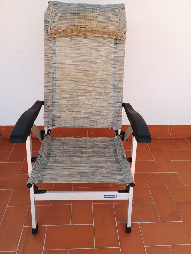 Silla MIDLAND confort maxi plus camping Nueva