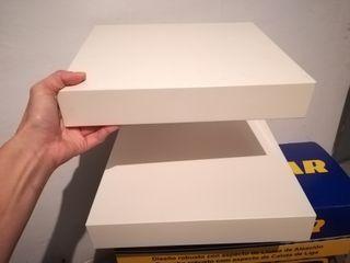Baldas pequeñas lack Ikea bl