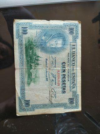 Billete de la república (sin serie)