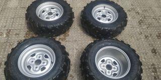 VENDO ruedas para quad