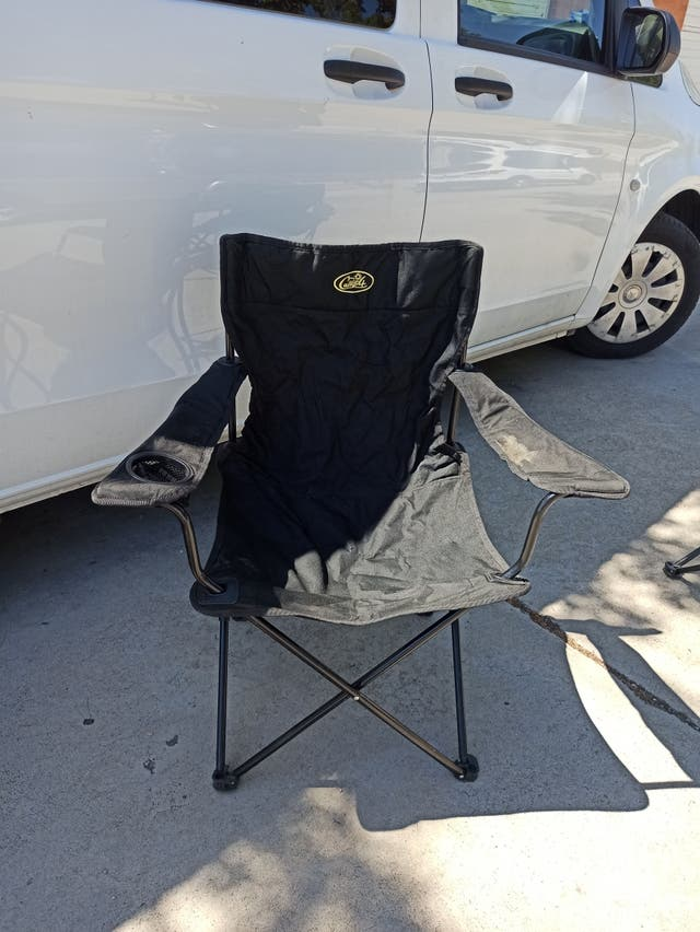 silla camping plegable camp4