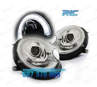 FAROS MINI COOPER R56 / R57 TUBE LIGHT CROMO