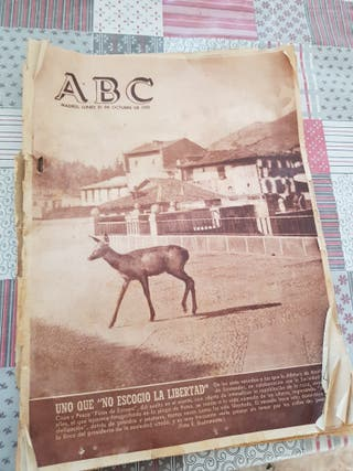 periódico abc antiguo de 1955