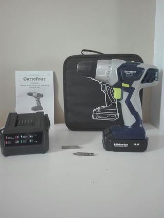 Taladro Atornillador Bateria Carrefour 14.4V