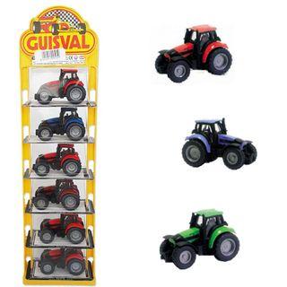 TRACTORES de juguete (6 UNIDADES) Guisval