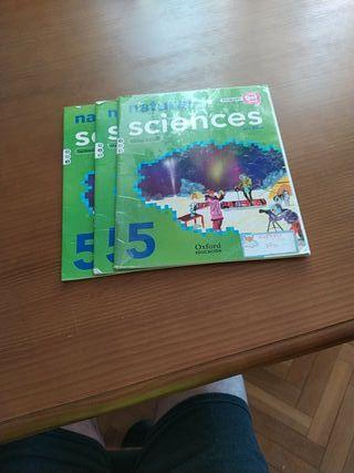 libros de texto natural sciences 5° primaria