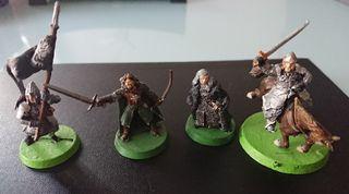 Miniaturas ESDLA Faramir, Denethor y porta