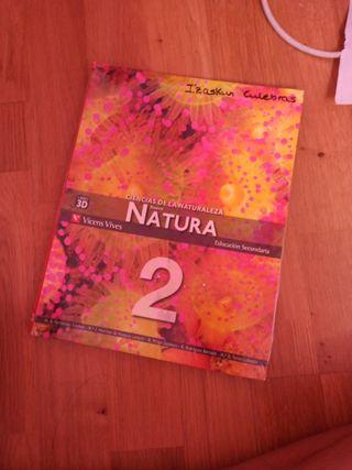 """libro """"Naturales""""2 ESO NUEVO"""