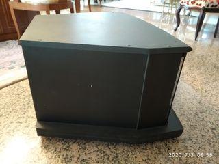 Mueble de TV con cristal