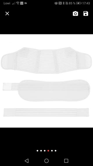 cinturón o faja pelvica abdominal