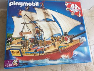 Playmobil gran barco pirata 4290 con caja