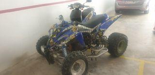 quad Yamaha raptor 350r