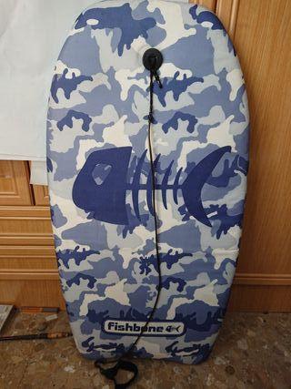 tabla body surf vela paddle surf playa bañador