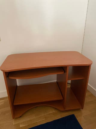 Mesa Escritorio baldas extraibles