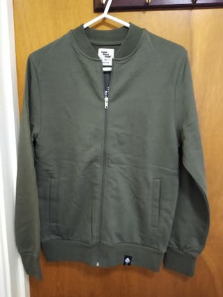 men's brand new full ZIP jumper