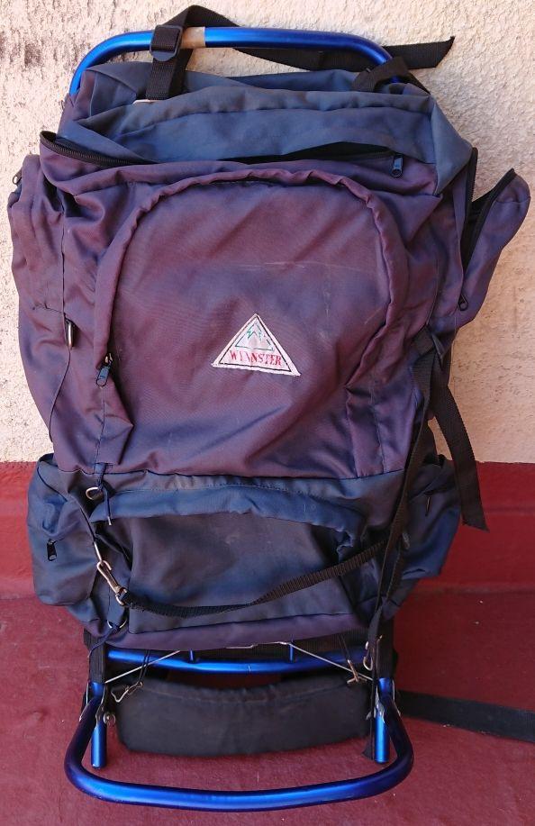 mochila alpinismo senderismo trekking camping