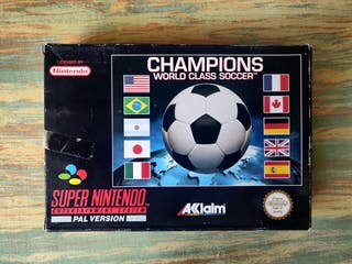 Champions World Class Soccer para SNES completo