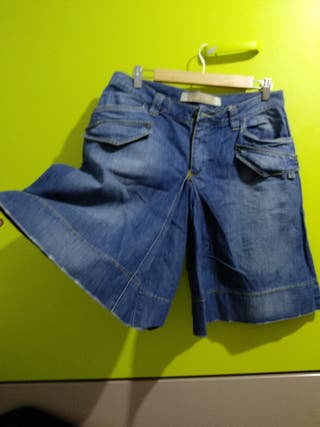Falda pantalón de vaquero talla 40
