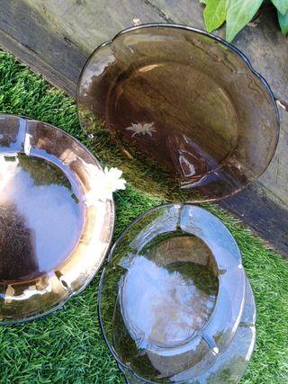 Platos Duralex años 70. 6 platos de 22 cm