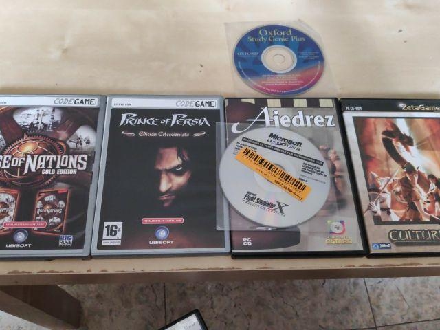 Pack videojuegos