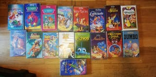 Colección 16 Películas VHS Disney