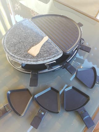 Plancha, Piedra y Raclette 8 personas